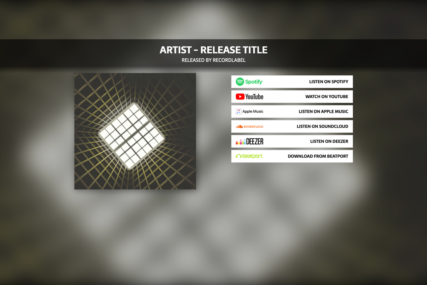 Add new Release - Tab Artists
