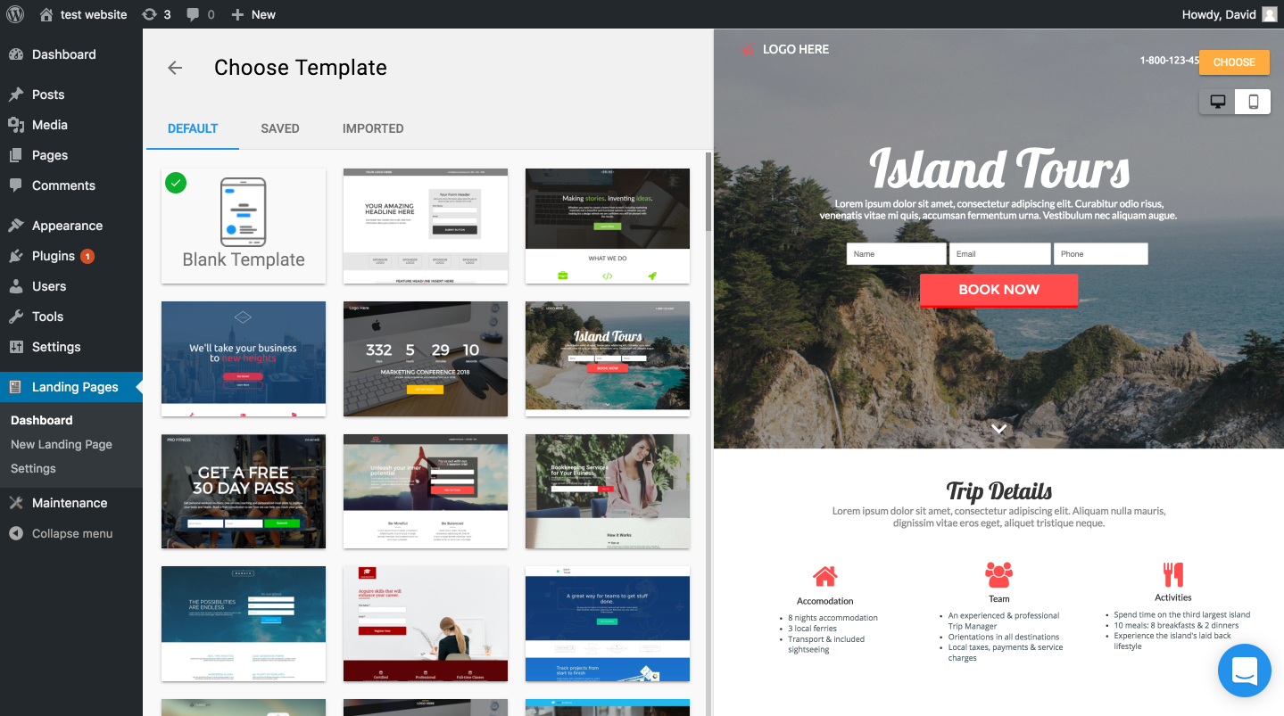 landing-pages-builder screenshot 4