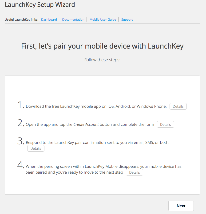 launchkey screenshot 4