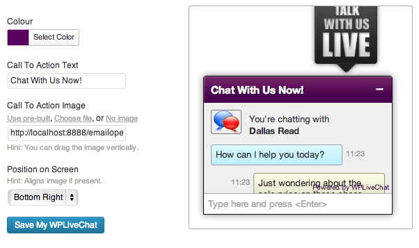 lively-chat-support screenshot 3