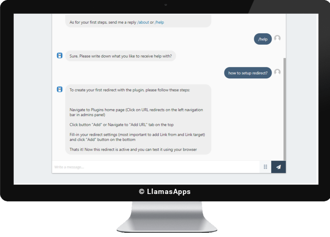 Llama Machine Learning Assistant will send you personalized suggestions, based on your settings, explain plugins functions and keeps everything in working condition