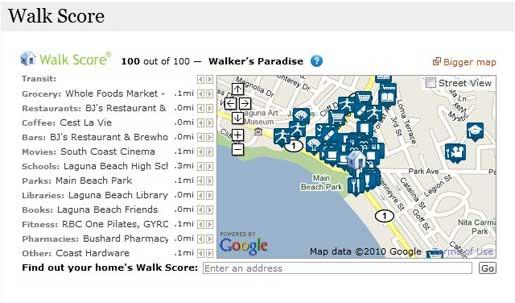 Walk Score module