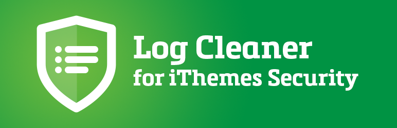 Log cleaner for iThemes Security