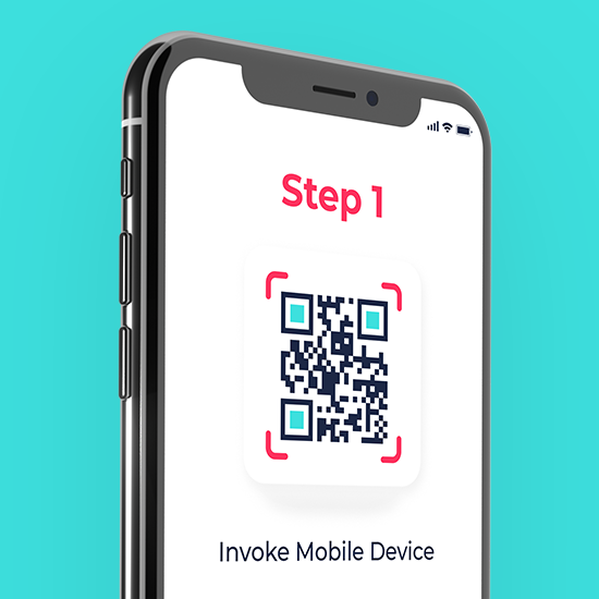 Step 1: Just invoke the mobile device