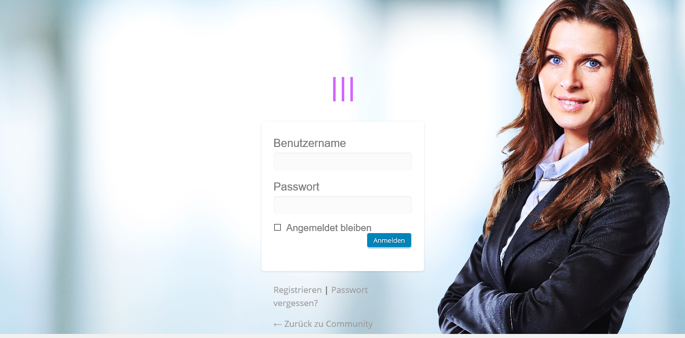 <p>custom login page screenshot  .</p>