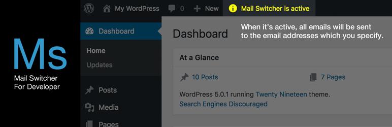 Mail Switcher For Developer