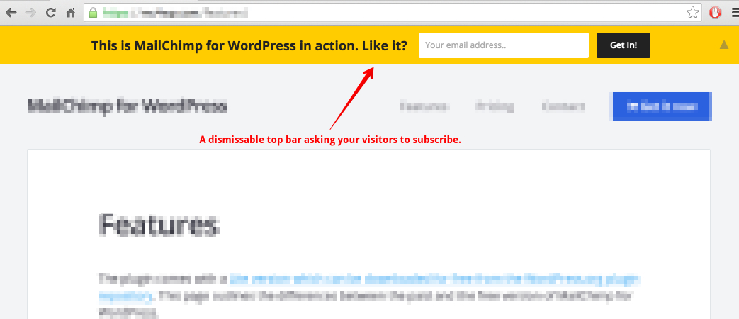 how to get rid of wordpress top bar