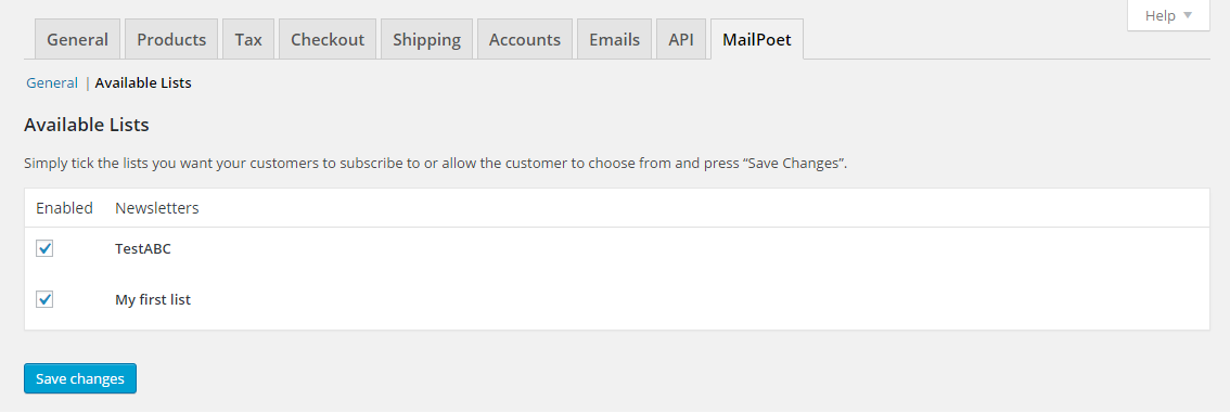 mailpoet-woocommerce-add-on screenshot 4
