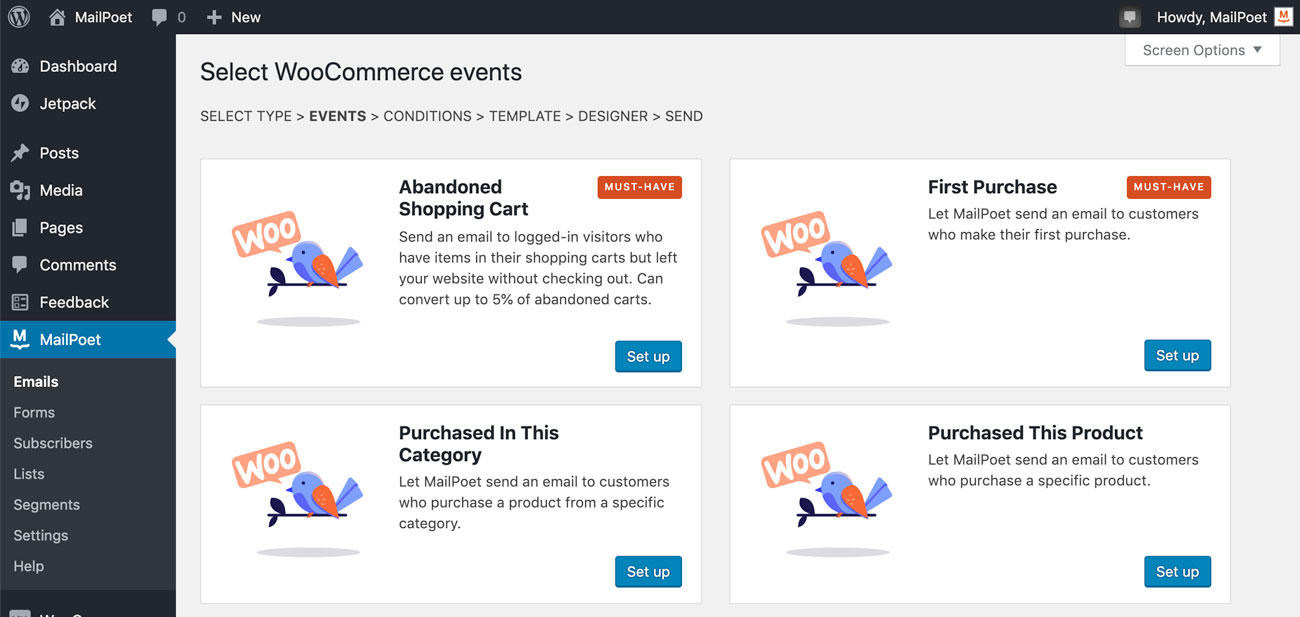 WooCommerce emails