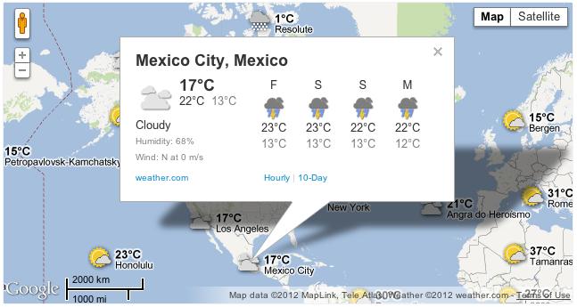 Weather Maps Info