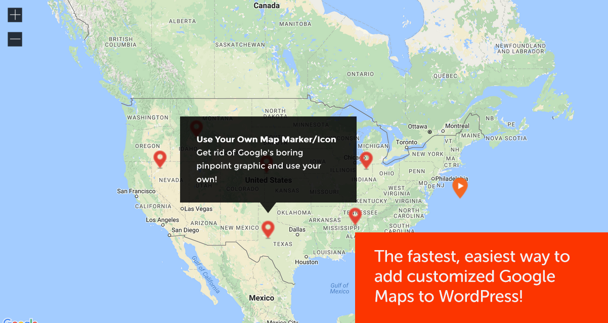 Mapify Lite Google Maps Plus WordPress Plugins - Google maps oregon