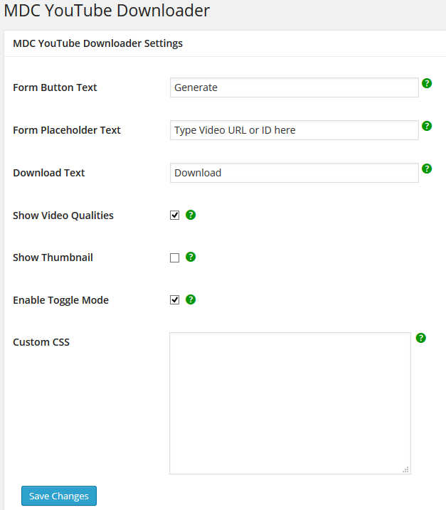 mdc-youtube-downloader screenshot 1