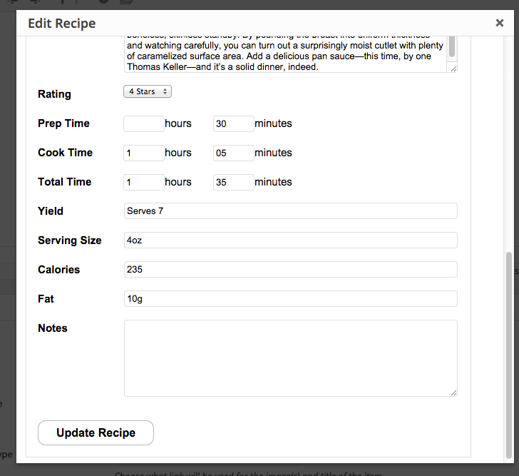 meal planner pro recipes wordpress org