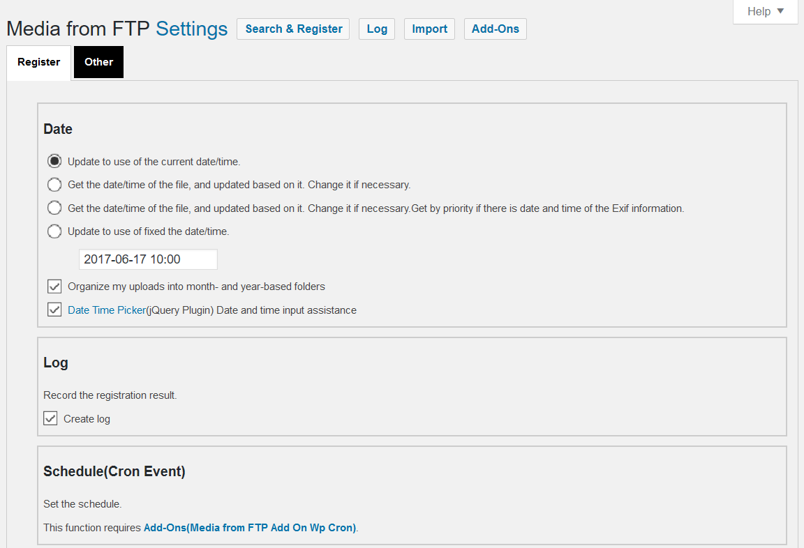 how to add ftp to wordpress