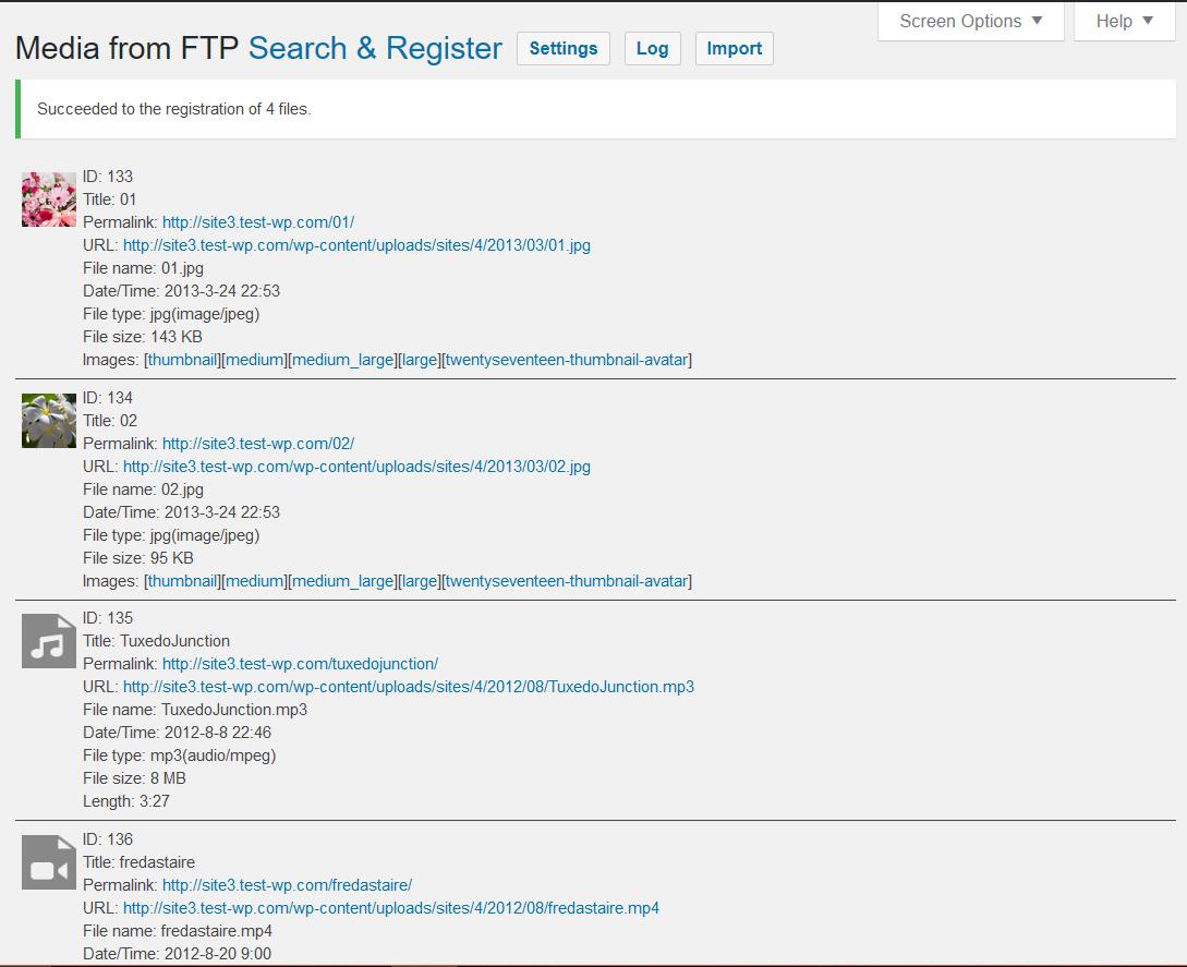 Media from FTP \u2013 WordPress plugin | WordPress.org