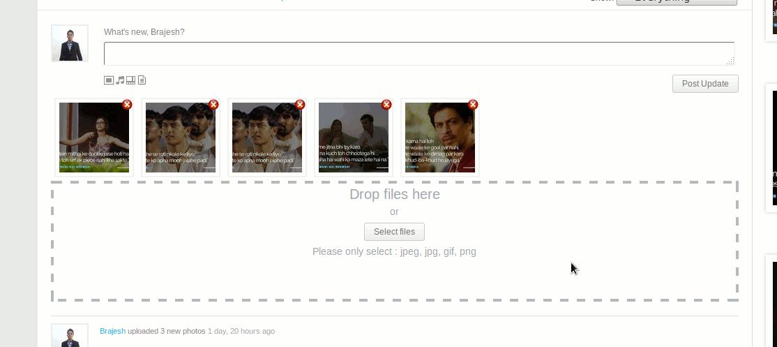Activity upload screen screenshot-1.png