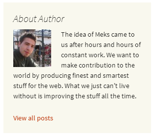 meks-smart-author-widget screenshot 2