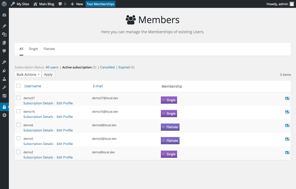 membership screenshot 5