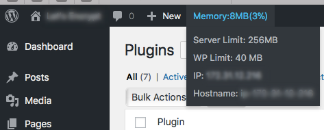 More details than just memory usage