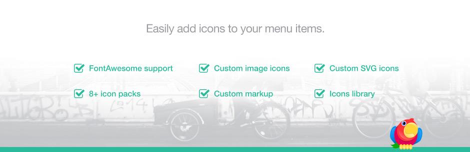 Menu Icons by ThemeIsle