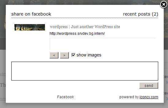 Facebook-Dialog.