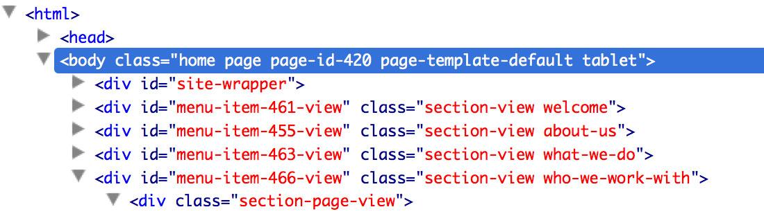 mobile detect for css — wordpress plugins