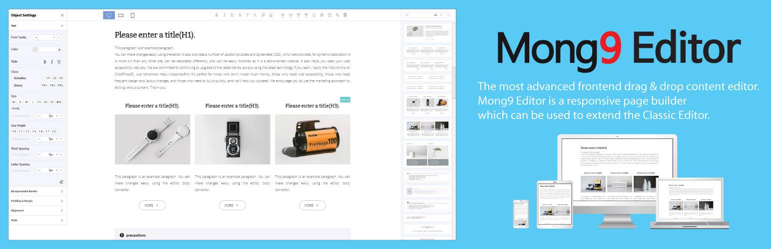 Mong9 Editor