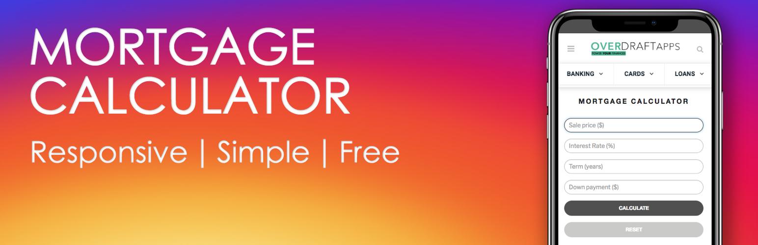 mortgage calculator free wordpress org