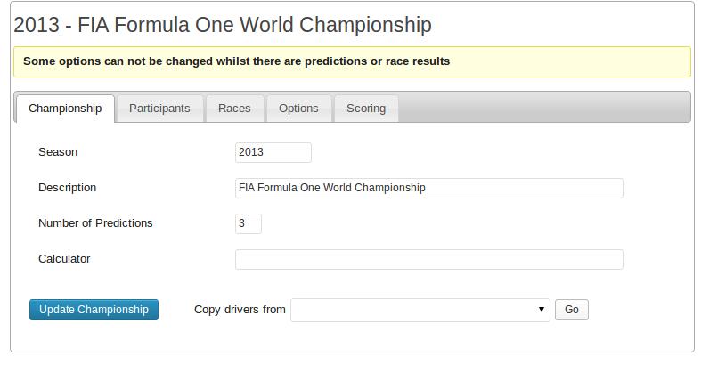 Championship definition