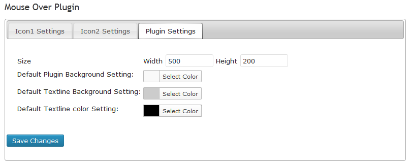 screenshot-3.png   Plugin Setting tab: Set plugin size,  plugin and text area background color and text color.