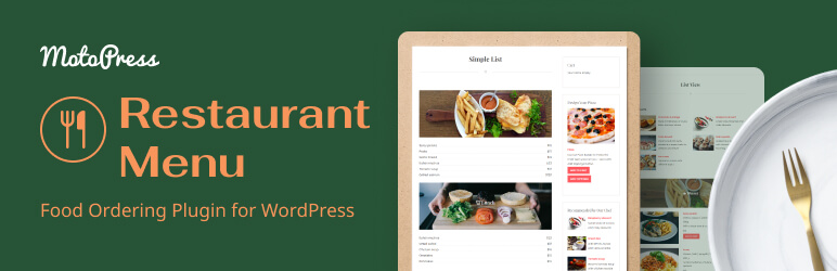 Restaurant Menu by MotoPress