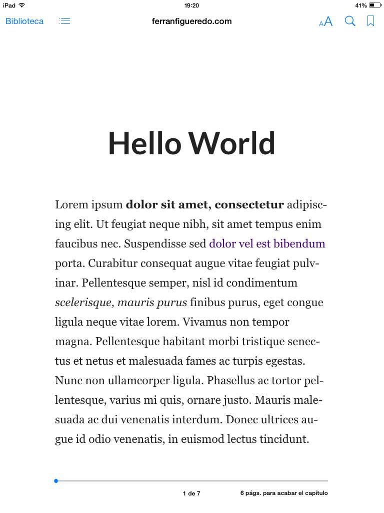 iPad Amazon Kindle