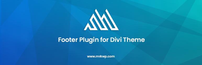 Footer Plugin for Divi – WordPress plugin | WordPress org