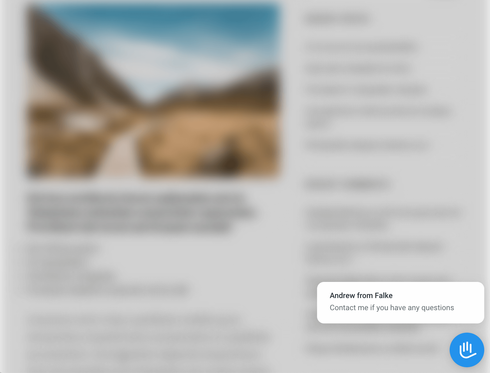 Widget window - minimized