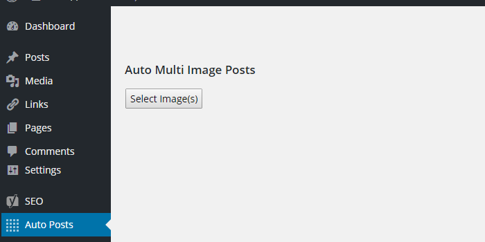 Multi Image Posts