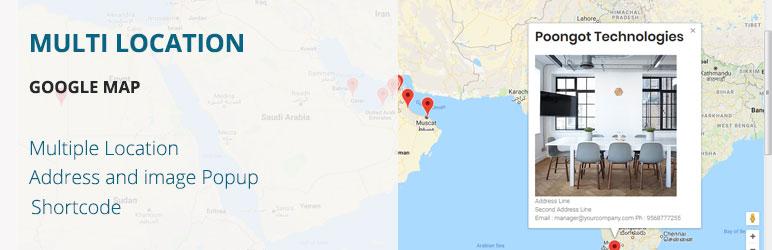 Mulit Location Google Map – WordPress plugin | WordPress.org on