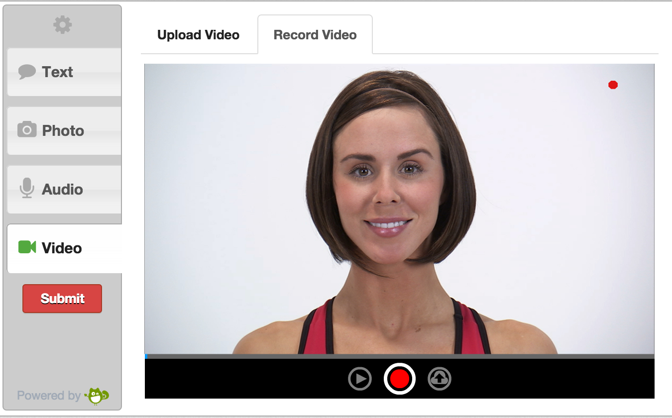Flash video recorder on PC web browser