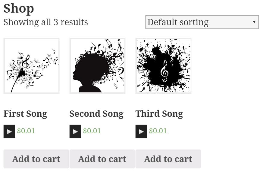 Music Player for WooCommerce – WordPress plugin   WordPress org