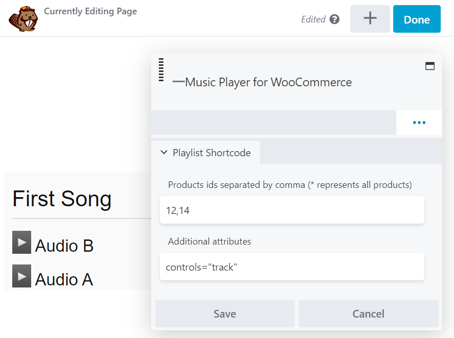 Music Player for WooCommerce – WordPress plugin | WordPress org