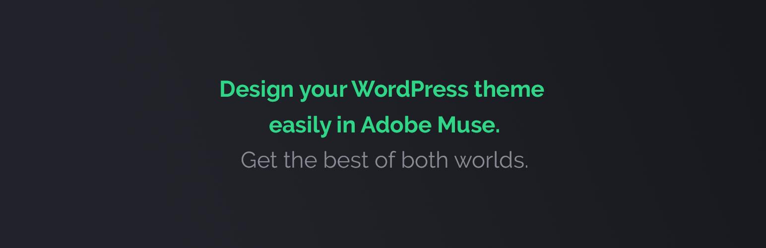 MWuse – Adobe Muse Converter | WordPress.org