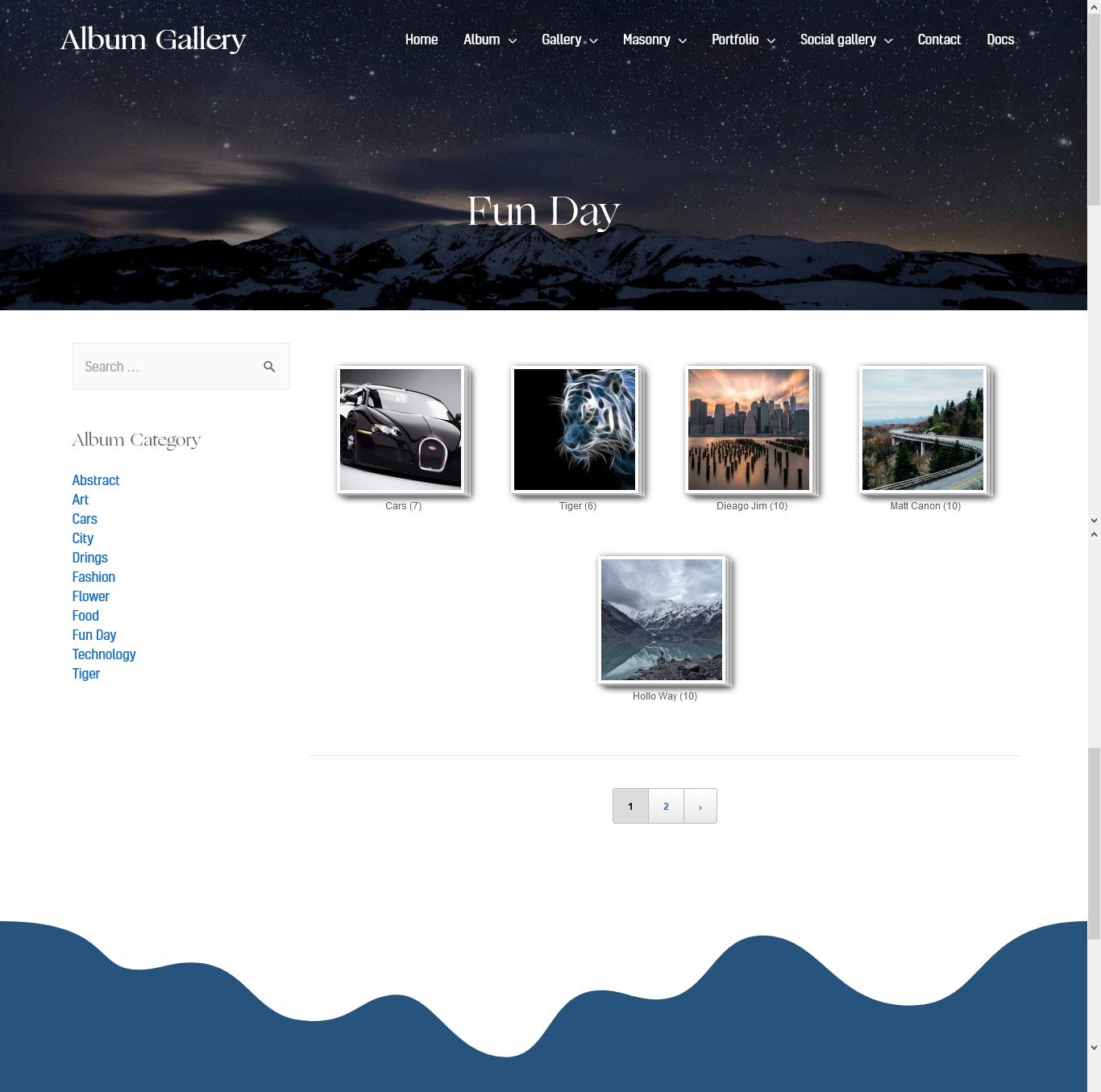 Album Archive Page