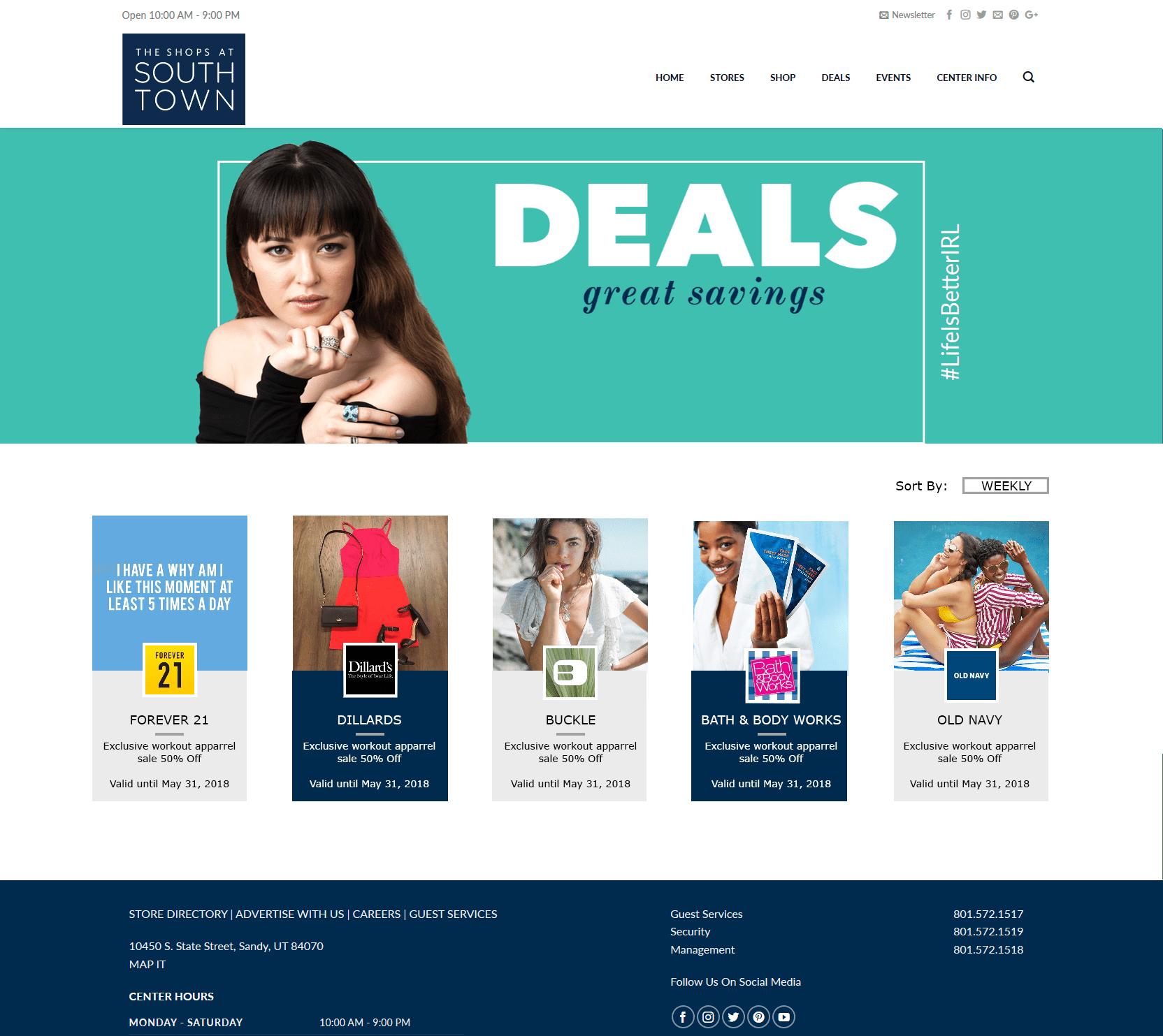 My Center Deals