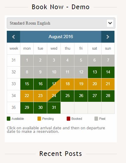 Plugin Interface integrated into WordPress Dashboard