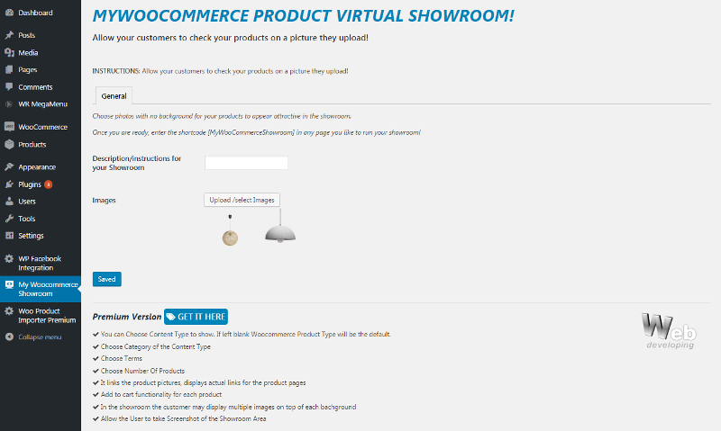 Product Virtual Try On Showroom for WooCommerce – Sunglasses, Furniture