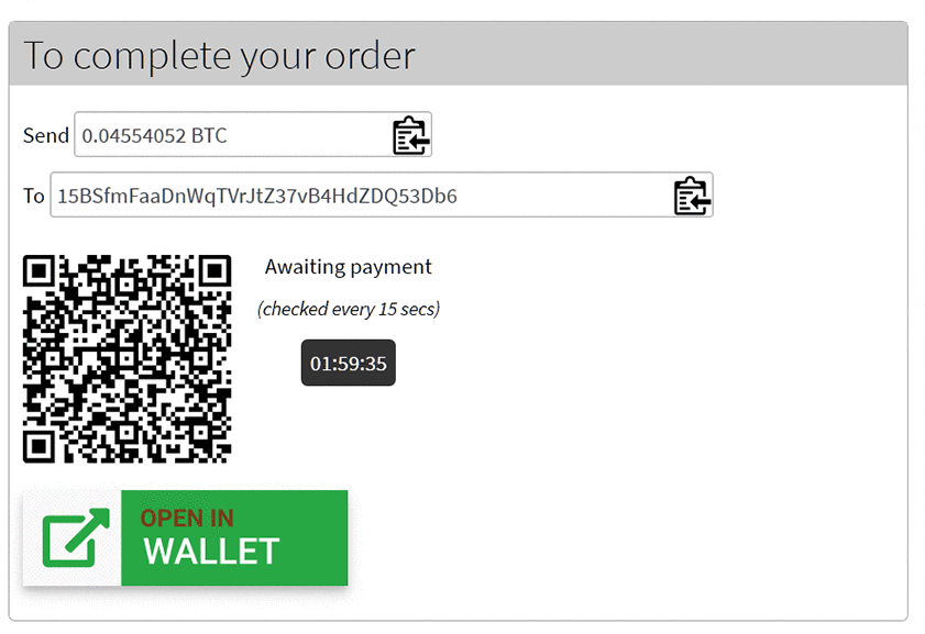 MyCryptoCheckout – Accept 80+ coins: Bitcoin, Ethereum, and more
