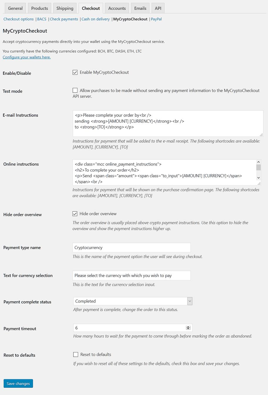 EasyDigitalDownloads gateway settings