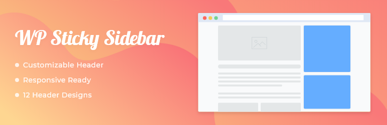 WP Sticky Sidebar – Floating Sidebar On Scroll for Any Theme