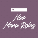 Nav Menu Roles logo