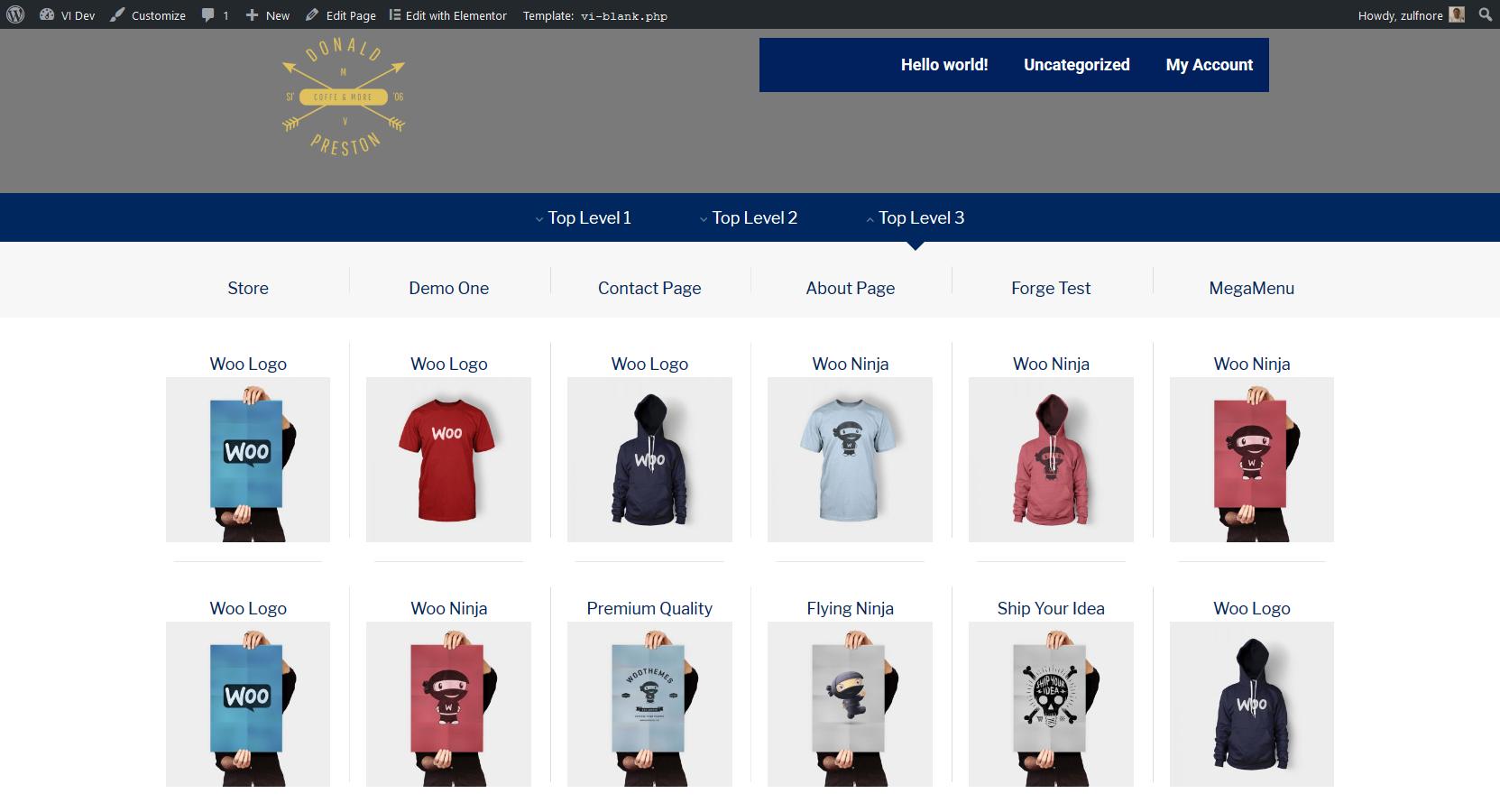 NavMenu Addon For Elementor – WordPress plugin | WordPress org