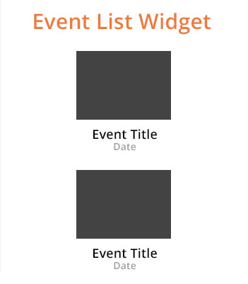 Neptix events widget.
